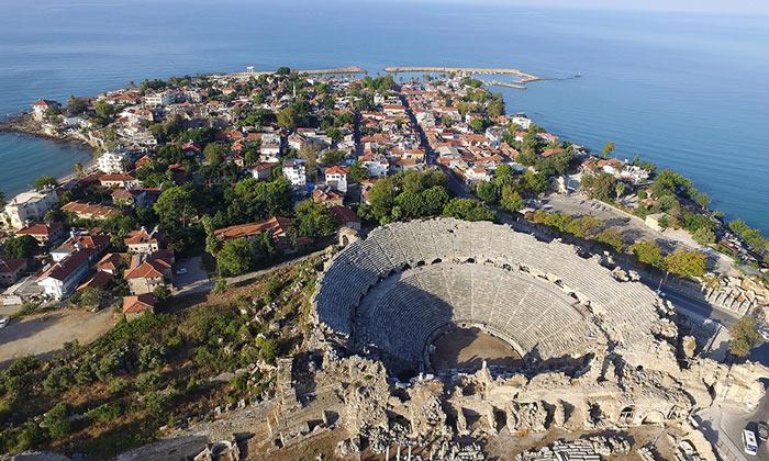 Курорт Сиде в Турции
