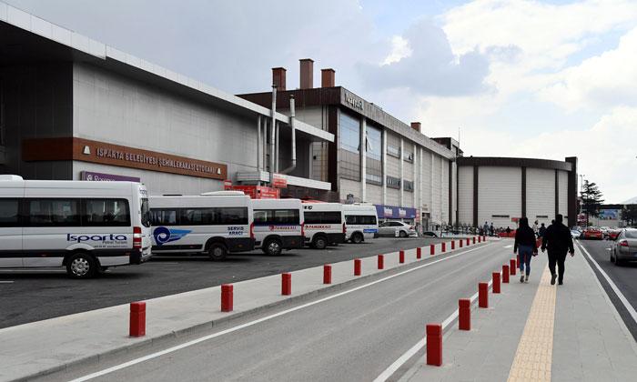 Автовокзал Ыспарты