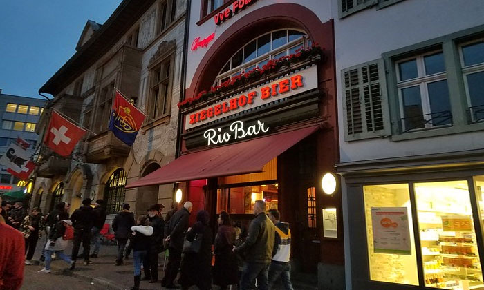 Бар Rio в Базеле