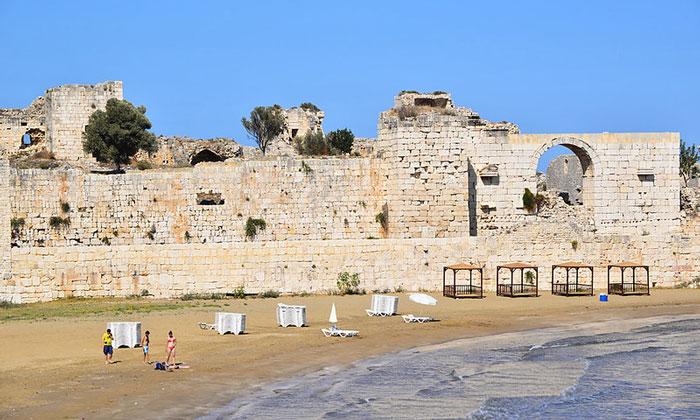 Береговая крепость Кызкалеси