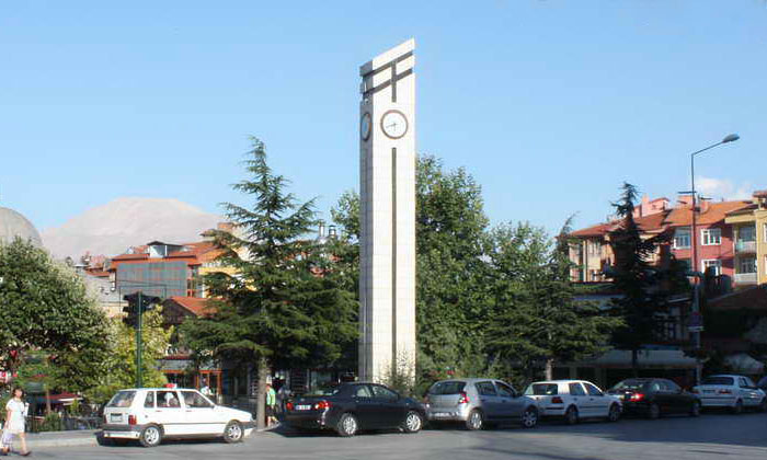Часовая башня Ыспарты