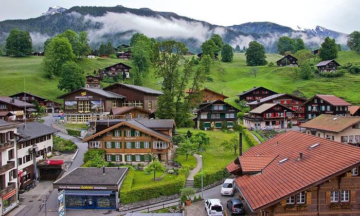 Деревня Гриндельвальд