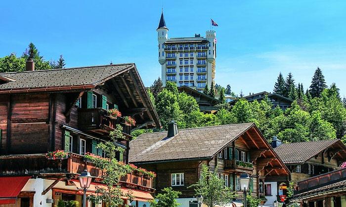 Отель «Palace» (деревня Гштад)