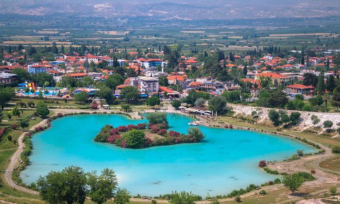 Деревня Памуккале