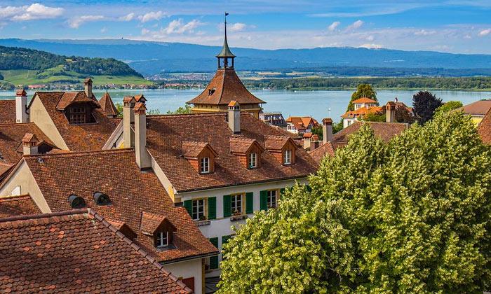 Традиционные дома Швейцарии