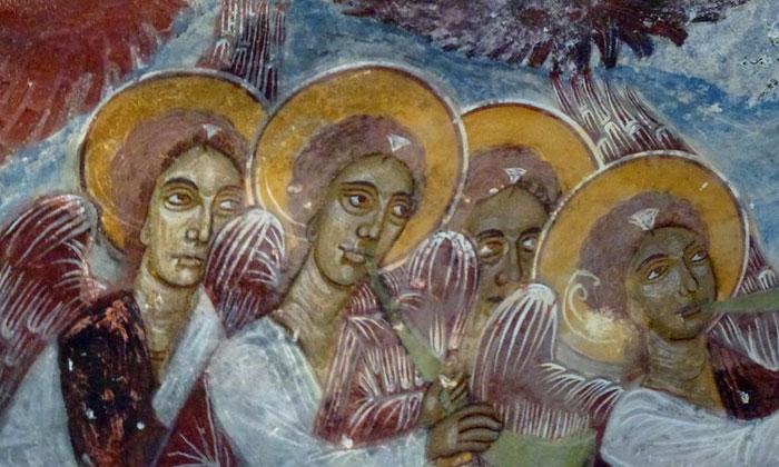 Фрески монастыря Панагия Сумела в Турции