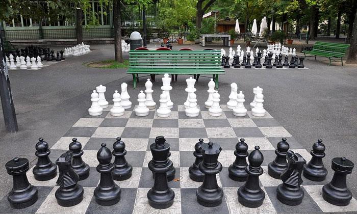 Гигантские шахматы Женевы