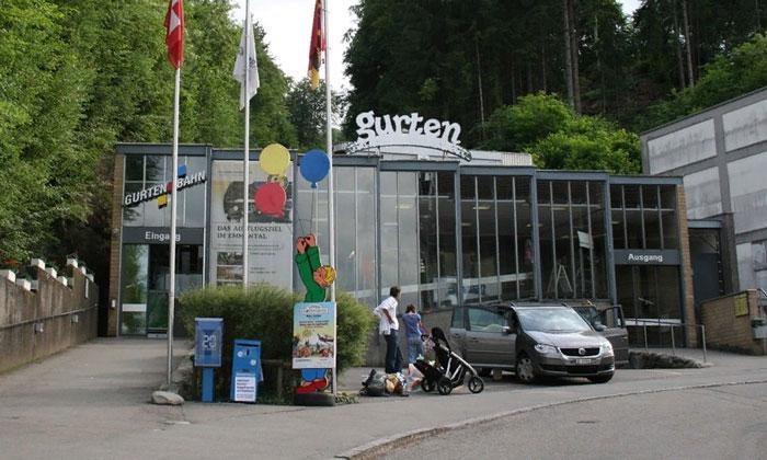 Вход на гору Gurten в Берне
