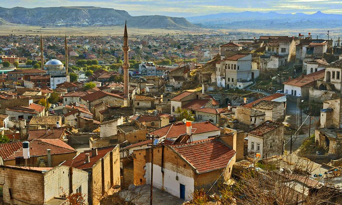 Город Аванос в Турции