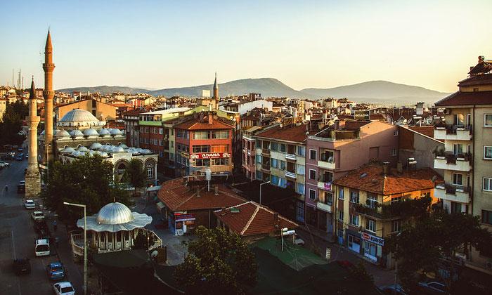 Город Бейшехир в Турции