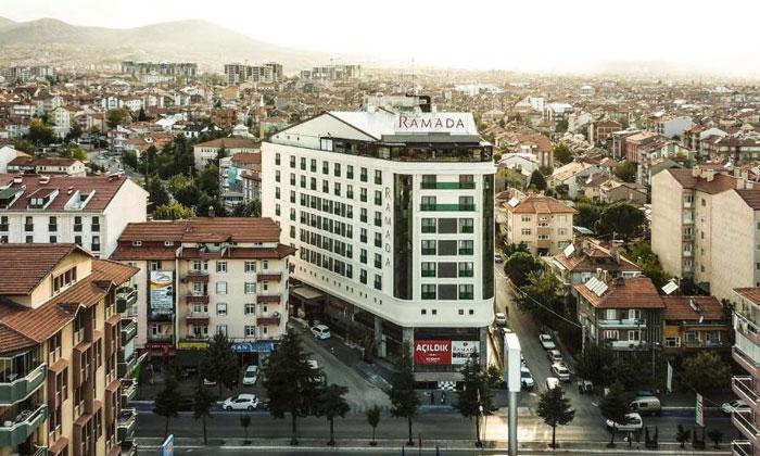 Город Ыспарта в Турции