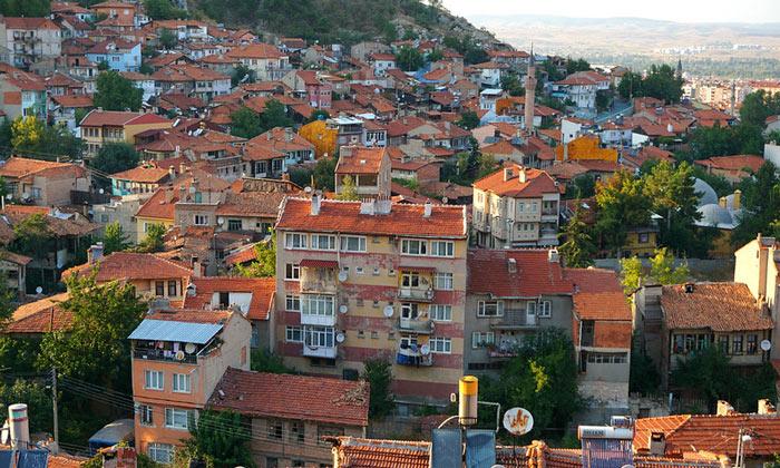 Город Кютахья в Турции