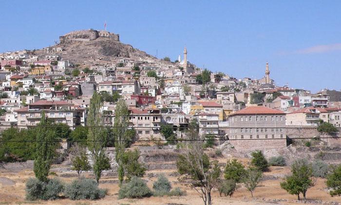 Город Невшехир в Турции
