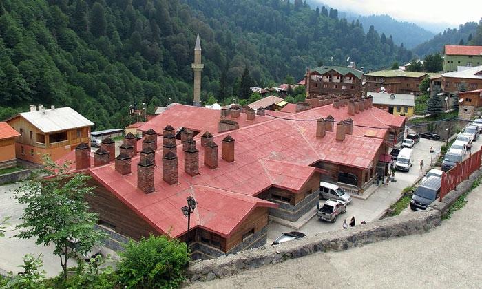 Традиционный горячий источник хаммам в Айдере