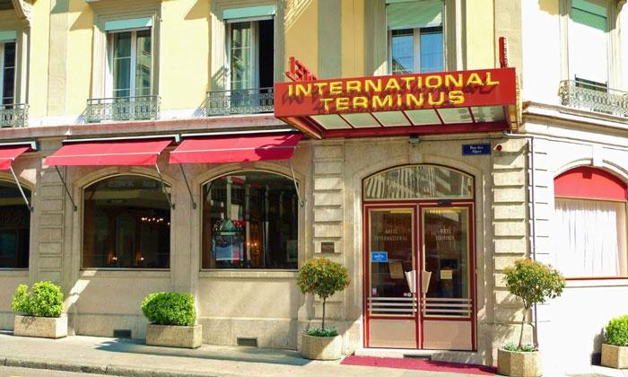 Отель «International and Terminus» в Женеве