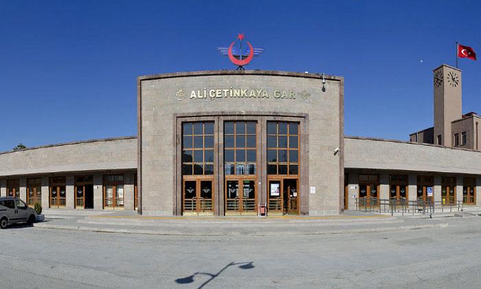 Железнодорожный вокзал Афьонкарахисара