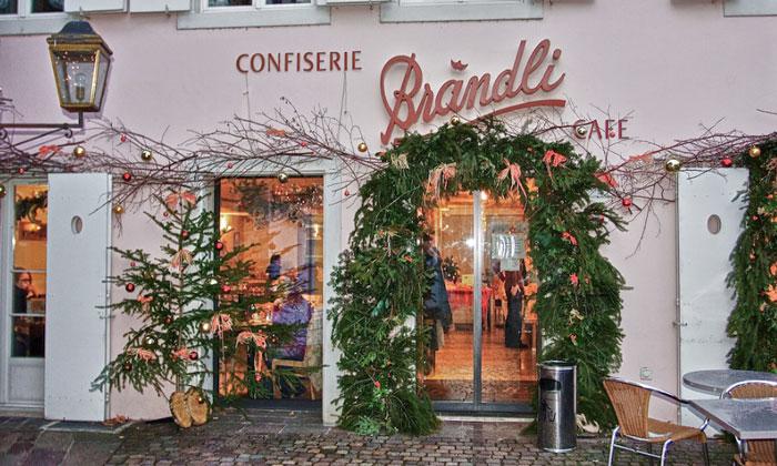 Кафе «Brandli» в Базеле