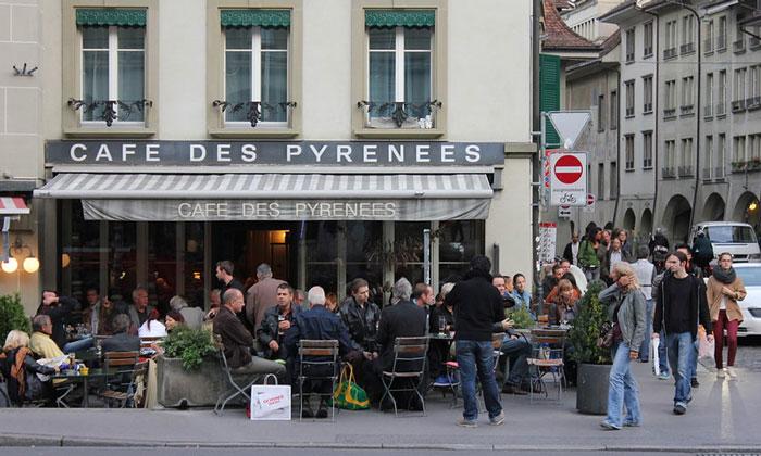Cafe des Pyrenees в Берне