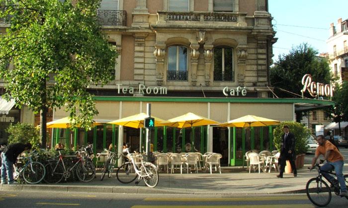 Кафе «Remor» в Женеве