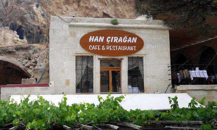 Кафе-ресторан «Han Ciragan» в Ургюпе