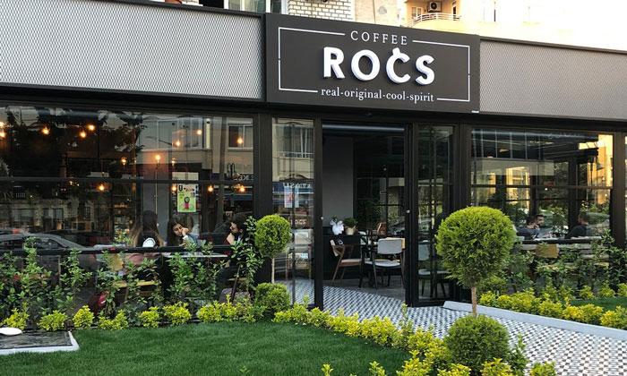 Кафе «Rocs» в Мерсине