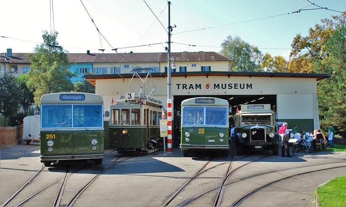 Музей трамвая в Берне