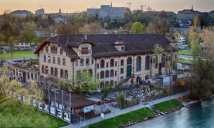 Ночной клуб Dampfzentrale в Берне