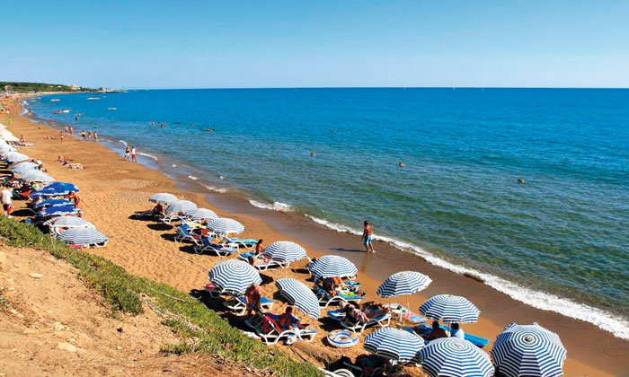 Один из пляжей Сиде