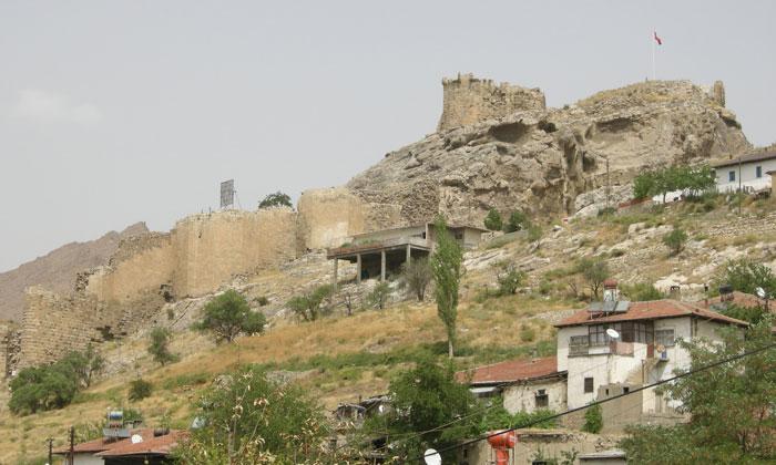 Остатки крепости Дивриги