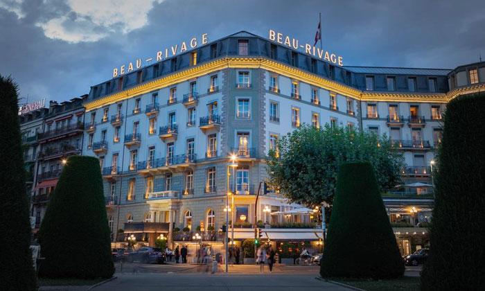 Отель «Beau-Rivage» в Женеве