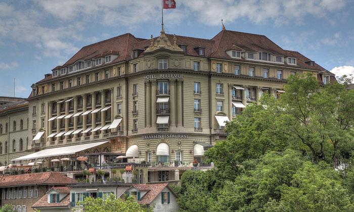 Отель Bellevue Palace в Берне