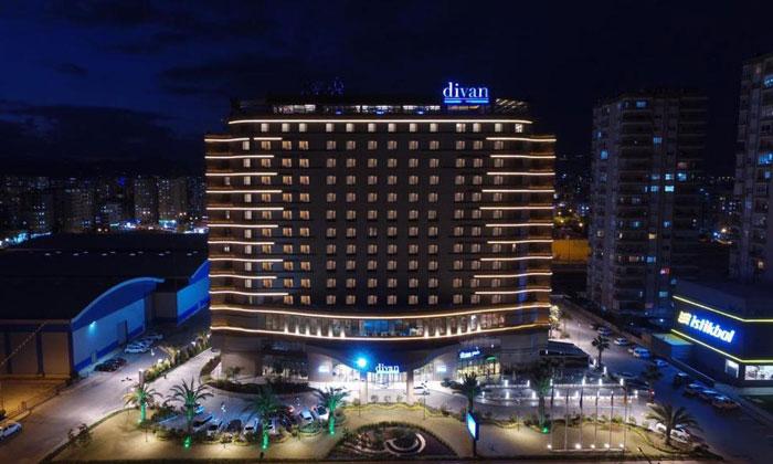 Отель «Divan» в Мерсине