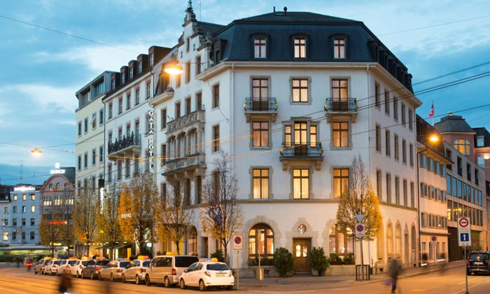 Отель Gaia в Базеле