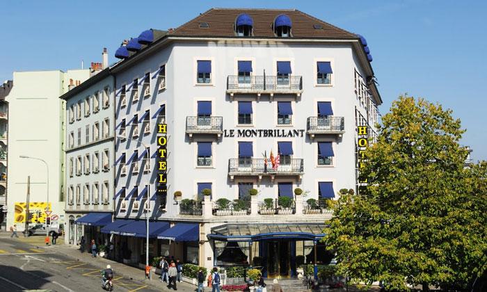 Отель «Le Montbrillant» в Женеве