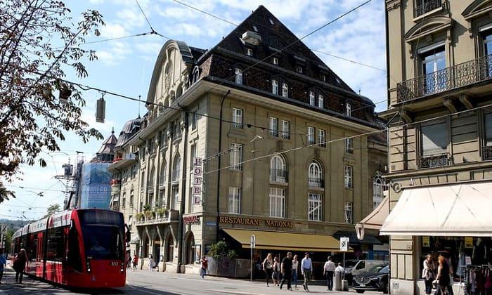 Отель National в Берне