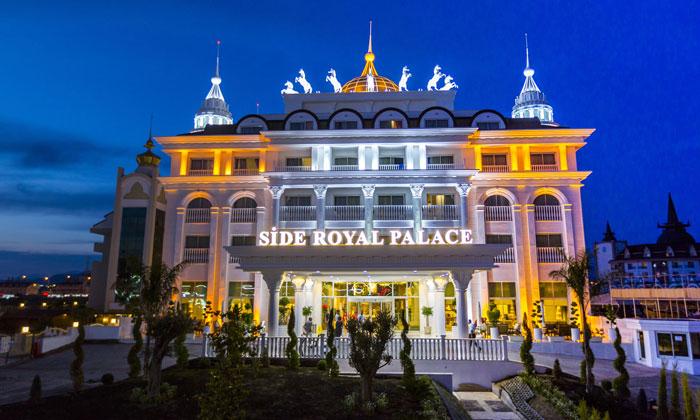 Отель «Royal Palace» в Сиде