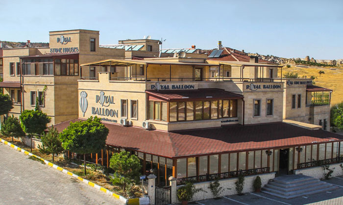 Отель «Royal Stone Houses» в Гёреме