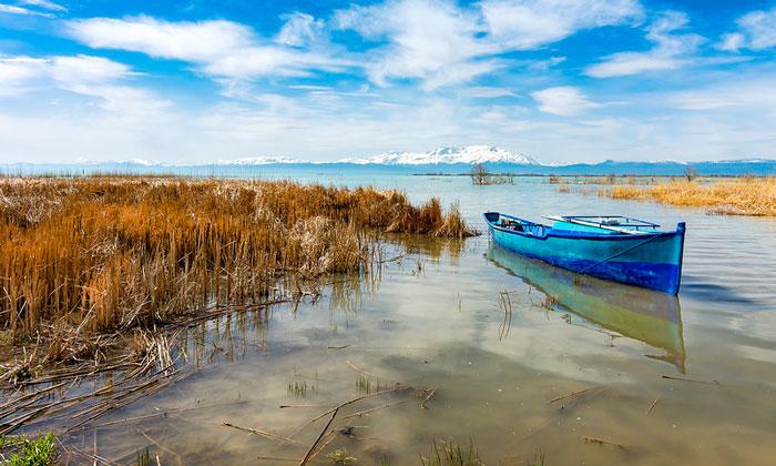 Озеро Бейшехир в Турции