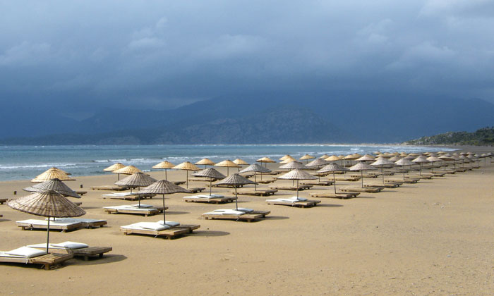 Пляж «Изтузу» в Дальяне