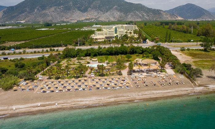 Пляж отеля «Club Di Finica» в Финике