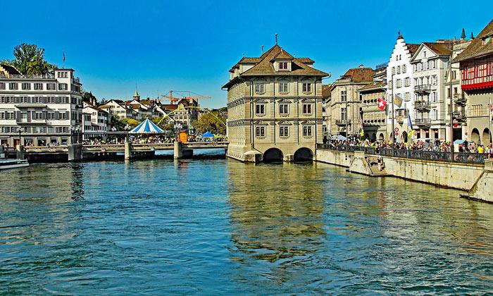 Река Лиммат (Цюрих)
