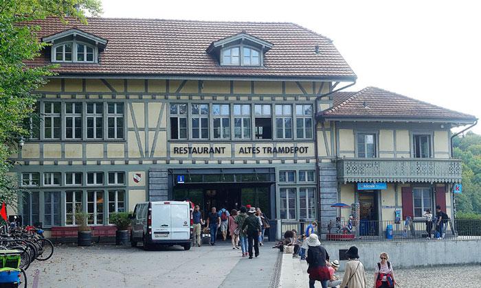 Ресторан Altes Tramdepot в Берне