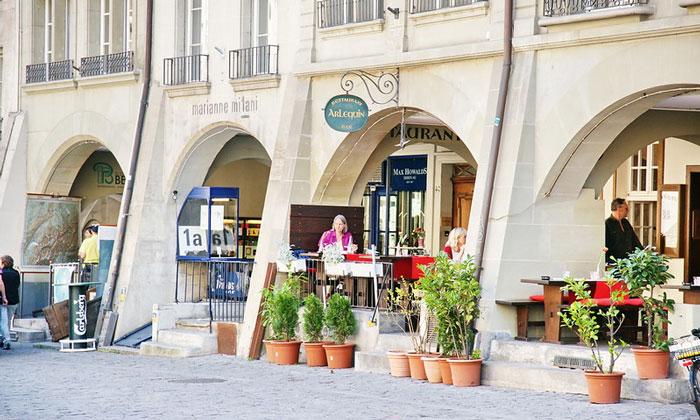 Бар-ресторан Arlequin в Берне