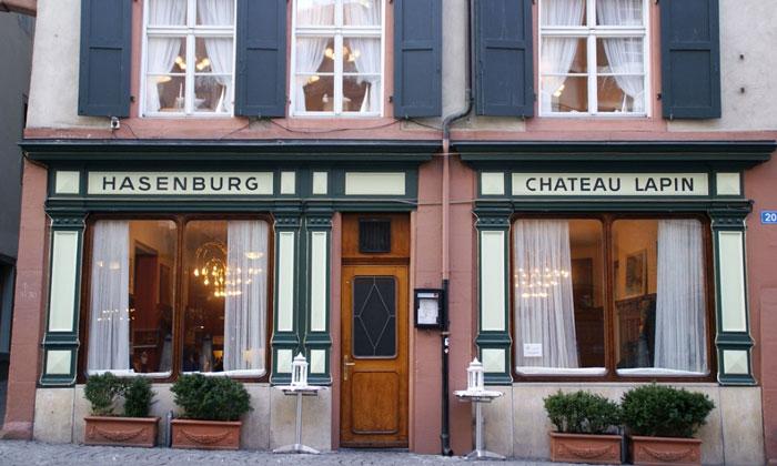 Ресторан Hasenburg в Базеле