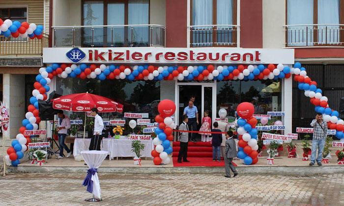Ресторан «Ikizler» в Бейшехире
