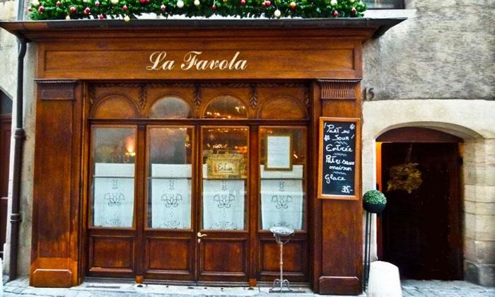 Ресторан «La Favola» в Женеве