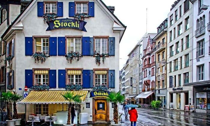Ресторан Stockli в Базеле