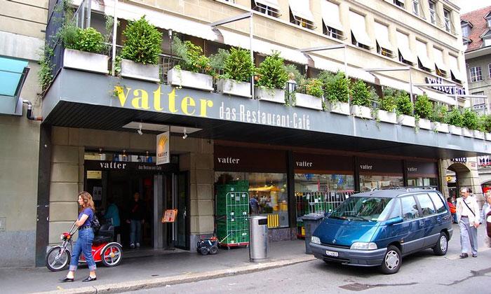 Ресторан Vatter в Берне