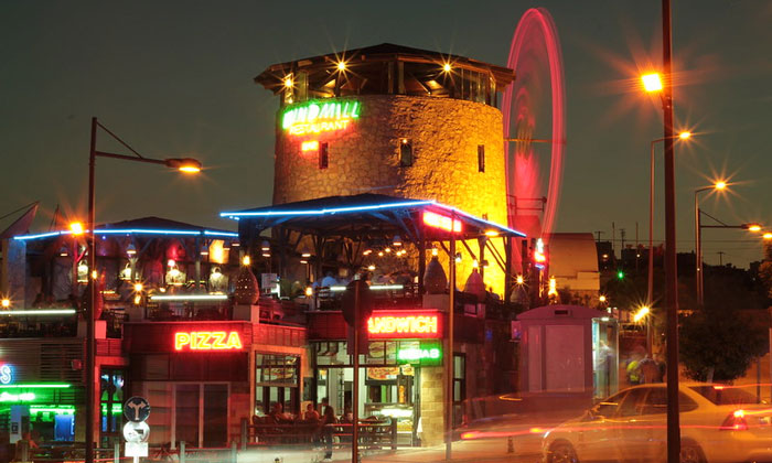 Ресторан «Windmill» в Сиде