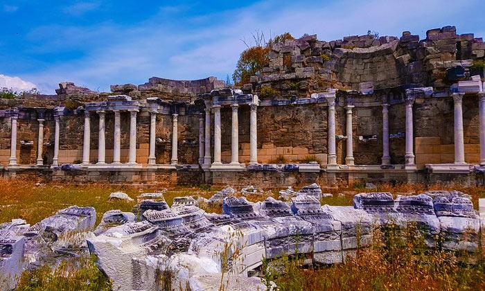 Руины античного Сиде